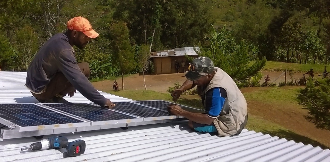 Solar for developing country
