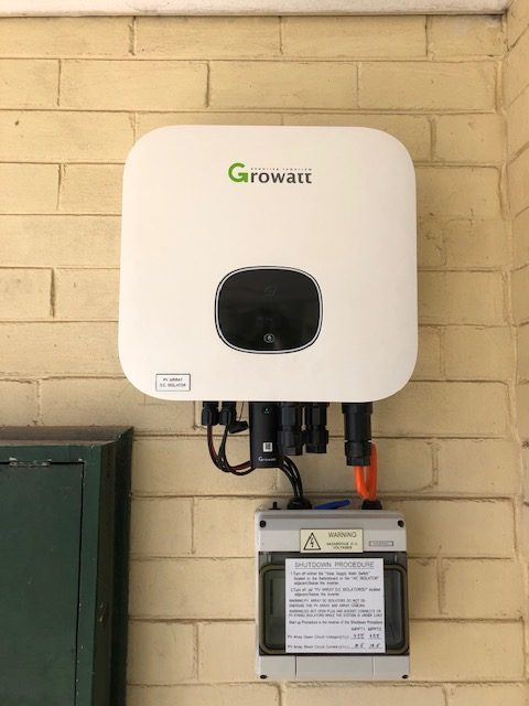 New 5kW Growatt Inverter with Wifi Monitori